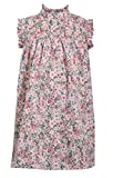 Bonnie Jean Sleeveless Floral Print Float Dress with Smocked Chest Panel, 2T