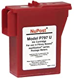 NuPost NPTK700 Compatible Red Ink Cartridge Replacement for Pitney Bowes Postage Meter 797-0, 797-M, 797-Q (Red)
