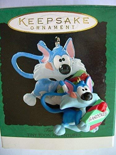 Tiny Toon Adventures Furrball Miniature 1995 Hallmark Ornament QXM4459