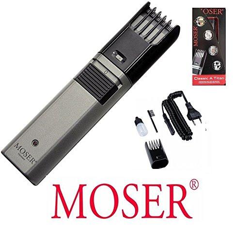 Moser Bartschneider mit Akku und Netzbetrieb, 2mm bis 21mm Schnittlänge. 43429