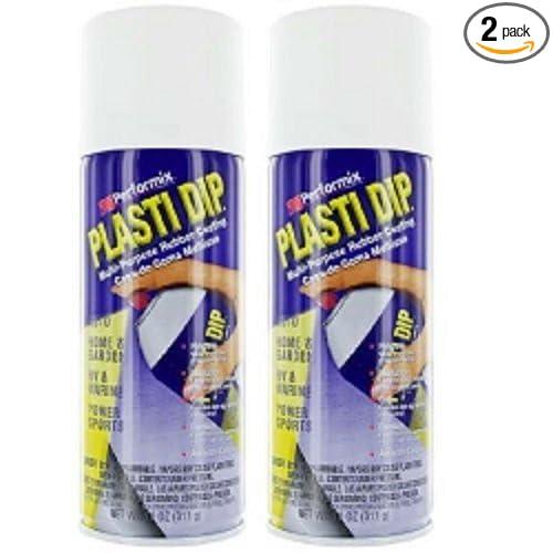 Performix Plasti Dip 11207 White Rubber Spray 2 PACK