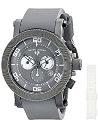Swiss Legend Men's 30465-GM-014 Cyclone Analog Display Swiss Quartz Grey Watch