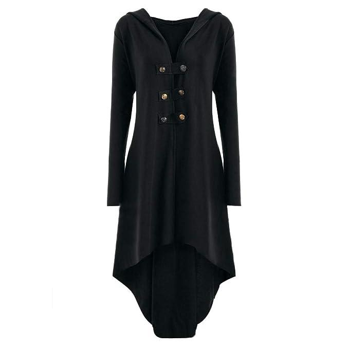 Vestido Vintage para Mujer, YiYLunneo Abrigo de Mujer Liquidación Temporada De Otoño E Invierno Esmoquin De Vestidos De Uniforme Traje De Vestir: Amazon.es: ...