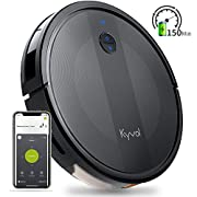 #LightningDeal Kyvol Cybovac E20 Robot Vacuum Cleaner, 2000Pa Suction, 150 min Runtime, Boundary Strips Included, Quiet, Super-Thin, Self-Charging, Works with Alexa, Ideal for Pet Hair, Carpets, Hard Floors