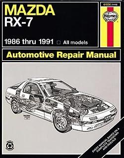 mazda rx 7 rotary 1979 thru 1985 all models automative repair rh amazon com