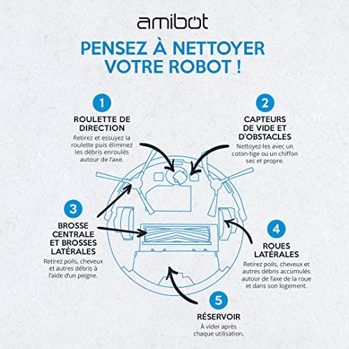 AMIBOT Spirit - Robots Aspirateurs