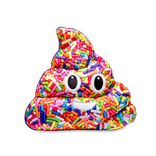 Top Trenz sprinkle4 Sprinkle Poop Pillow, Pink
