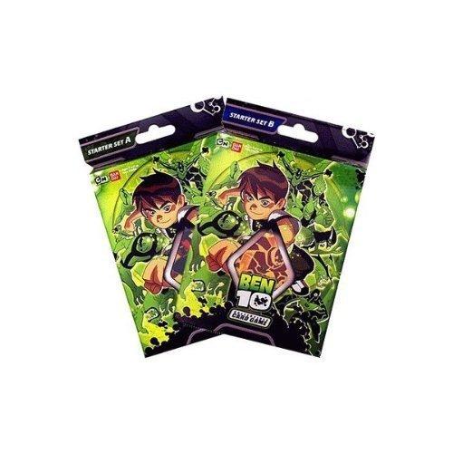 Ben 10 Collectible Trading Cards Game Starter Deck Set a & B . 80 Cards Total! - Ben 10 Card Game