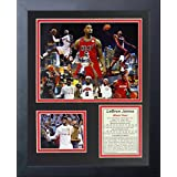 "Legends Never Die ""Lebron James Miami Heat"" Framed Photo Collage, 11 x 14-Inch"