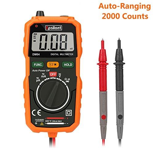Measuring Amperage With A Multimeter : Epsilont eps mm digital multimeter auto ranging