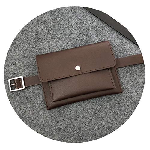 Fashion Women waist Bag Leather Waist Pack Femal Belt Bag Phone Pouch Bags Hotsale Waist Packs Fanny Pack (Zeeland Van Kathy Belt)