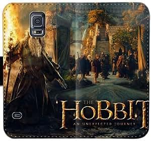 El Hobbit ancha T6G4L Funda Samsung Galaxy Note caja de la carpeta de cuero Funda 4 r3l2PG encargo del teléfono celular del caso del tirón Funda Deportes