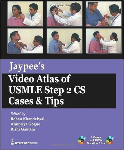 Jaypee's Video Atlas of USMLE Step 2 CS Cases & Tips (USMLE Exam