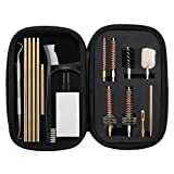 7.62MM AK/SKS Cleaning Kit Pro .223/5.56 AR15/M16 Rifle Gun Cleaning Kit with Bore Chamber Brushes Metal Pick Kit Brass Cleaning Rod in Zippered Organizer Compact Combo Case by BOOSTEADY