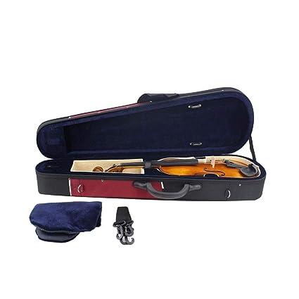 Estuche de violín de tamaño completo Bolsa de almacenamiento ...