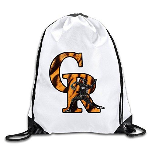 Hunson - Cool Creative Rockies Rotation CR Sport Bag Drawstring Sling Backpack For Men & Women Sackpack