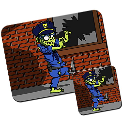 zombie mouse pad - 8