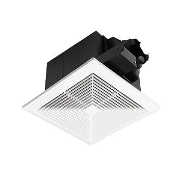 ultra quiet ventilation fan bathroom exhaust fan 70cfm 0 3sone rh amazon com Bathroom Exhaust Fan Venting Inline Bathroom Exhaust Fans