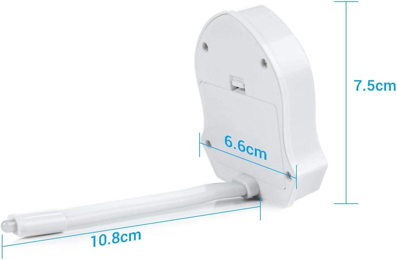 Seau daisances Cabinet Salle de Bain Lampe de Toilette Veilleuse LED pour WC D/étecteur de Mouvement /Éclairage 16 Changement de Couleurs pour WC Lavabo Cuvette Si/ège