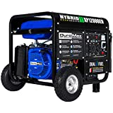 DuroMax XP12000EH Dual Fuel 12000 Watt Electric Start Portable Generator