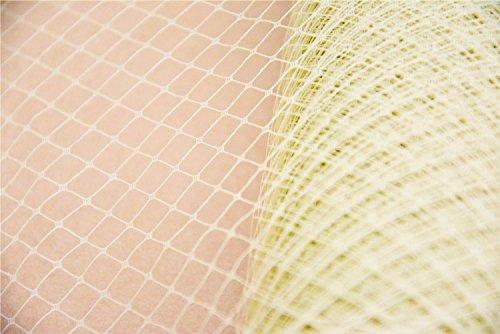 1 Yard Champagne Birdcage Veil Netting Fabric Bridal Wedding Net Good Crafted DIY Ideas