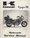 1986 KAWASAKI MOTORCYCLE VOYAGER XII SERVICE MANUAL 99924-1064-01 (639)