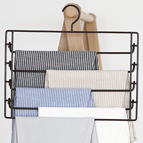 LIANGJUN Scarf Pants Hangers Multifunctional Drying Rack Pac
