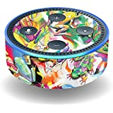 MightySkins Skin for Amazon Echo Dot (2nd Gen) - Wet Paint | Protective, Durable, and Unique Vinyl Decal wrap Cover | Easy to Apply, Remove, and Change Styles | Made in The USA
