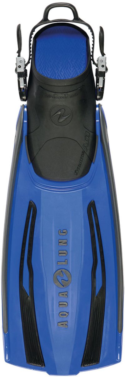 Aqualung Stratos ADJ Fins (Blue, Large/X-Large)