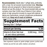 Nature's Way Vitamin A 10,000 IU 100 count, 2 pack