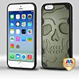 MyBat Cell Phone Case for Apple iPhone 6/6s - Retail Packaging - Black/Black