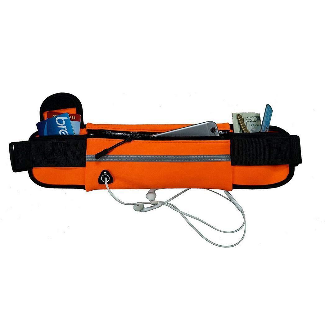 kaimus Sac de taille de t/él/éphone anti-vol /étanche en plein air avec trou pour /écouteurs Pochettes