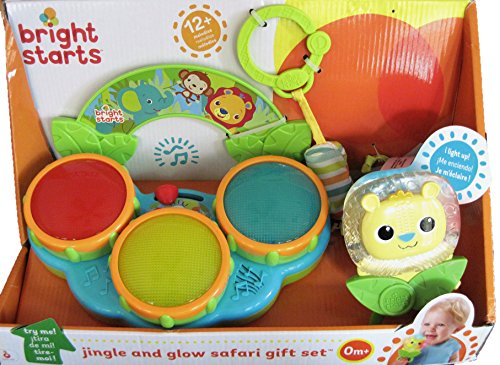 Bright Starts Jingle and Glow Safari Gift Set