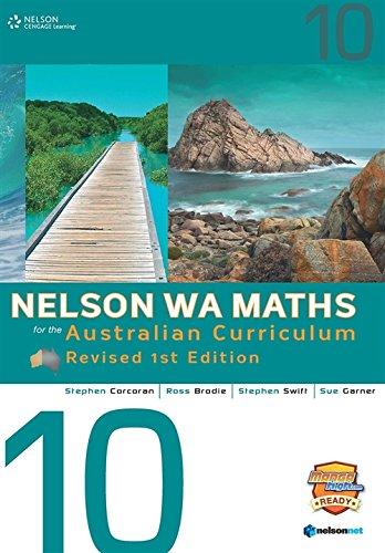 Download Nelson WA Maths for the Australian Curriculum 10 ebook