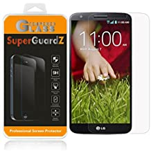 [2-Pack] For LG G2 - SuperGuardZ Tempered Glass Screen Protector, 9H, 0.3mm, 2.5D Round Edge, Anti-Scratch, Anti-Bubble