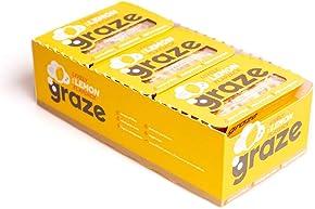 Graze Lively Lemon Oat Flapjack 53g (Pack of 9)