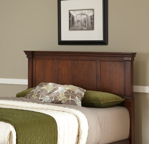 (Home Styles 5520-501 Aspen Queen/Full Headboard, Rustic Cherry)