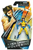 2009 X-MEN ORIGINS: WOLVERINE COMIC SERIES WOLVERINE UNMASKED MOC by Hasbro