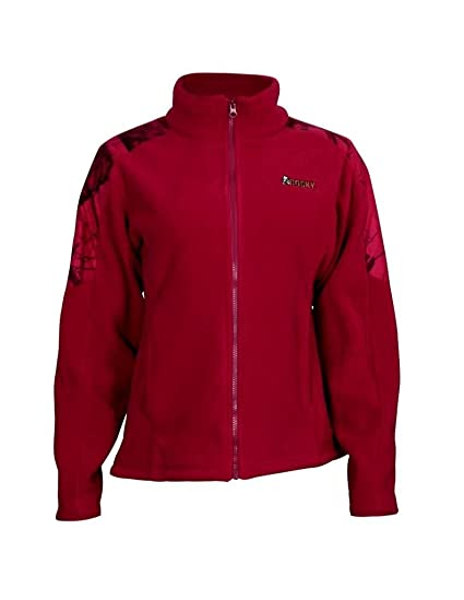 5e7e17b9618ea Amazon.com  Rocky Women s Full Zip Fleece Jacket  Sports   Outdoors