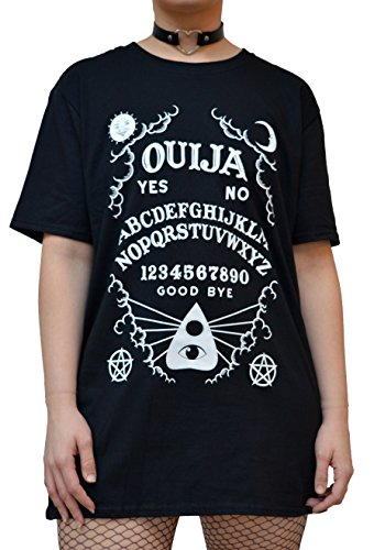 Occult Ouija Board T Shirt – Alternative Gothic Clothing for Women by Luna Cult