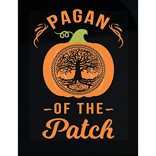 DOLCE INDIGO Halloween Pumpkin Pagan of The Patch Tree of Life - Transparent Sticker