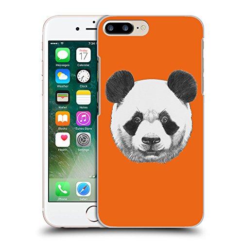 GoGoMobile Coque de Protection TPU Silicone Case pour // Q05300632 Panda Sécurité Orange // Apple iPhone 7 PLUS