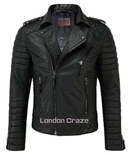 Traditional Motorcycle Jacket - 5