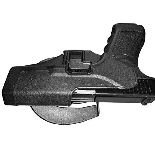 Holster de Ceinture - IMAGE Etui de Revolver pour Glock 17/22/31 - conçu pour Main droite - Holster de Pistolet, Airsoft… 2