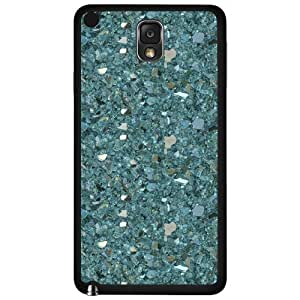 Blue Crystals and Gemstones Hard Snap on Phone Case (Note 3 III)