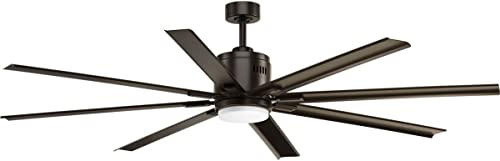 Vast Collection 72-Inch 8-Blade Bronze Modern Ceiling Fan