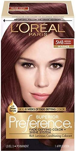 LOreal Superior Preference Medium Auburn