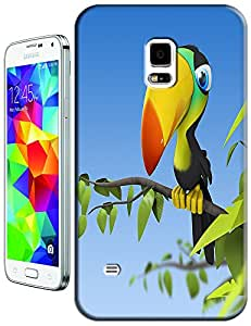 Cute Cartoon Bird singing on the tree lovely fashion cell phone cases for Samsung Galaxy N3