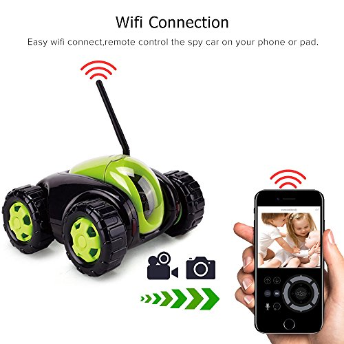 APP control RC Tank Remote Control with Megapixel Camera Auto Wireless Power Charging Inspection Camera Car Toy Christmas gift