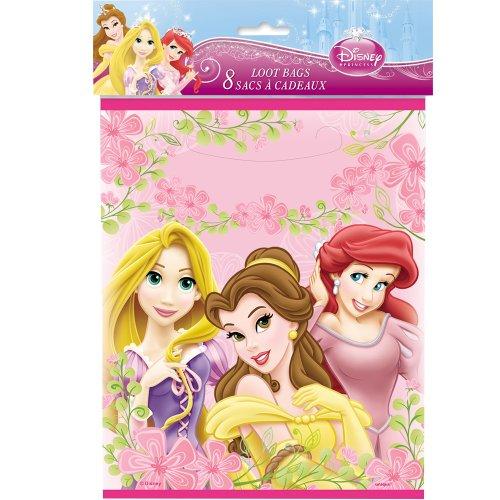Disney Princess Goodie Bags, 8ct -